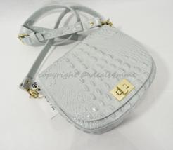 NWT Brahmin Mini Sonny Leather Shoulder/Crossbody Bag in Sea Glass Melbo... - $199.00
