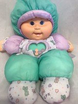 VTG CABBAGE PATCH BABY LAND PUFFALUMP PEEK N PLAY INFANT TOY DOLL PLUSH ... - $15.86
