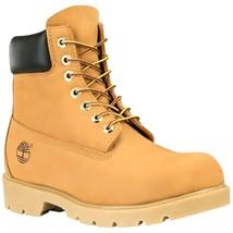 "Timberland Men's 6"" Basic Waterproof Padded Collar Wheat Boots Style #18094 - $139.99"