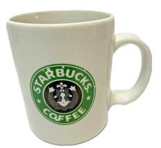 Starbucks BIA Cordon Bleu Coffee Tea Cup Mug White Green Hand Decorated ... - $11.61
