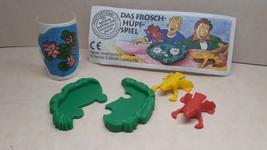 Kinder - 1998 Das Froschhupfspiel + paper + sticker - surprise egg - $1.50
