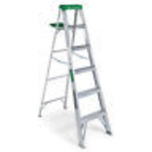 6-Ft. Aluminum Step Ladder - $116.81