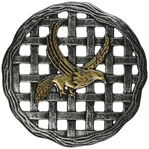 Oakland Living Stepping Stone, Eagle, Antique Pewter - $49.81
