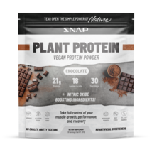 Organic Plant Protein Powder Muscle Builder Recovery AA Vegan Chocolate ... - $86.48