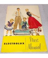 Electrolux Vacuum Cleaner Model LX Users Manual 1954 Booklet - $9.95