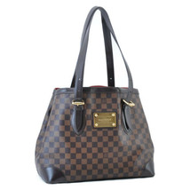 LOUIS VUITTON Damier Hampstead MM Tote Bag N51204 LV Auth ar1235 **Tear - $420.00