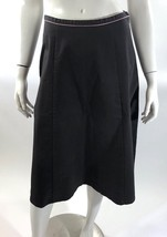 Vintage April Cornell Womens A Line Skirt Size Small Purple Khaki Below ... - $29.69