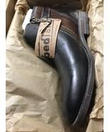 Bed Stu Men's Johnston Black Frida Brown Frida  Ankle Leather Boots Size 8 - $123.84