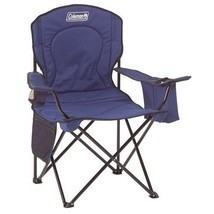 Coleman Oversized Folding Quad Chair Outdoor Camping Beach Fishing with ... - $38.60