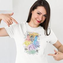 DC Comics Women Wonder Woman Bat-Girl Supergirl t-shirt free shipping DCO188 image 3