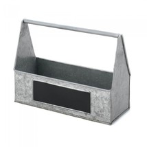 GALVANIZED METAL PICNIC CADDY - $16.46