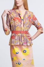 Nwt $298 Anthropologie Smoky Lilies Lace Peplum Jacket Cardigan By Gregory 4, 6 - $94.99