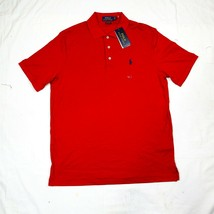 Polo Ralph Lauren Classic SRL Golf Shirt Red Fit Medium M 710701000004 J... - $59.40