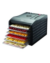 Pro 6 Tray Food Dehydrator Spices Trail Mix Dried Fruit Vegetables Beef ... - £179.37 GBP