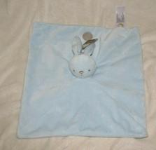 "NWT NEW Baby Blue Rabbit Security Blanket Animal Adventure 13"" x 14"" - $49.44"