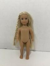 "American Girl Julie mini 6.5"" BeForever nude doll historical small plastic body - $6.92"