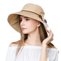Packable Sun Bucket Summer Hat Women Beach Safari Hiking Sun Protection ... - $20.71