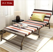 Portable Folding Bed With Frame Guest Bed Mattress Bedding Cot Day Night... - $98.99