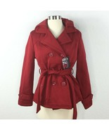 Yoki Girls Outerwear Collection Coat Red Girl Size XL - $29.69
