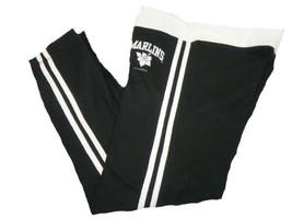 Junior Women's Miami Marlins Capri Pants MLB Lounge Baseball NEW
