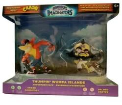 Skylanders Imaginators Crash Bandicoot Thumpin' Wumpa Islands Adventure Pack New - $31.78