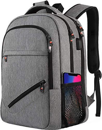 Laptop Backpack,Business Travel Slim Durable Laptops Backpack with USB Charging