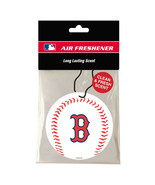 BOSTON RED SOX AIR FRESHENER NEW AND OFFICIALLY LICENSED - $5.90