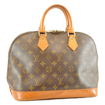 Louis Vuitton Monogram Alma Hand Bag M51130 Lv Auth 8366 - $270.00