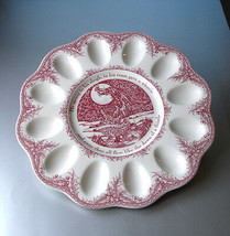 "Johnson Brothers Twas The Night Before Christmas Deviled Egg Plate 11.5"" New - $39.90"