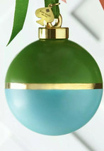 Lenox Kate Spade BE MERRY, BE BRIGHT Green/Turquoise Christmas Ornament - $32.55