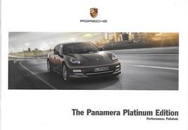 2013 Porsche PANAMERA PLATINUM EDITION brochure catalog US 13 4 - $12.00