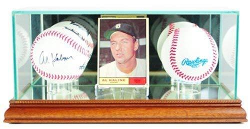 Perfect Cases Card and Double Baseball Display Case