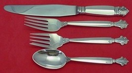Acanthus by Georg Jensen Sterling Silver Dinner Size Place Setting(s) 4pc - $339.00