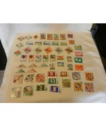 Lot of 45 Mongolia Stamps, 1980s, Animals, Tractors, Balloons, Ships, Fauna - $29.70