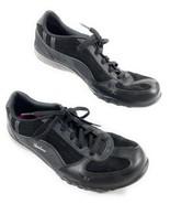 Skechers SN 22457 Women's Relaxed Fit Memory Foam Lace Up Leather Black ... - $17.81
