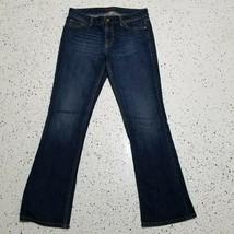 Women's Tommy Hilfiger Denim Blue Jeans ~ Sz 6 Short ~ Boot Cut ~ Cotton... - $19.79