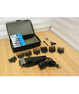 WAHL MC2 Adjustable Clippers Set with 1,2,3,4,5 7&8 Combs, Case, Manual  - $37.11
