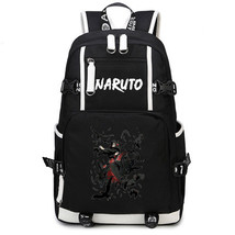 Naruto Theme Fighting Anime Series Backpack Schoolbag Daypack Itachi Crow - $36.99