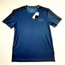 Adidas Climalite Men's Performance T-shirt Size Medium Navy Blue JB14 - $19.79
