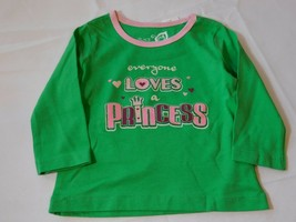 The Children's Place Baby Girl's Long Sleeve Shirt 6-9 Months Loves a Princess - $24.74
