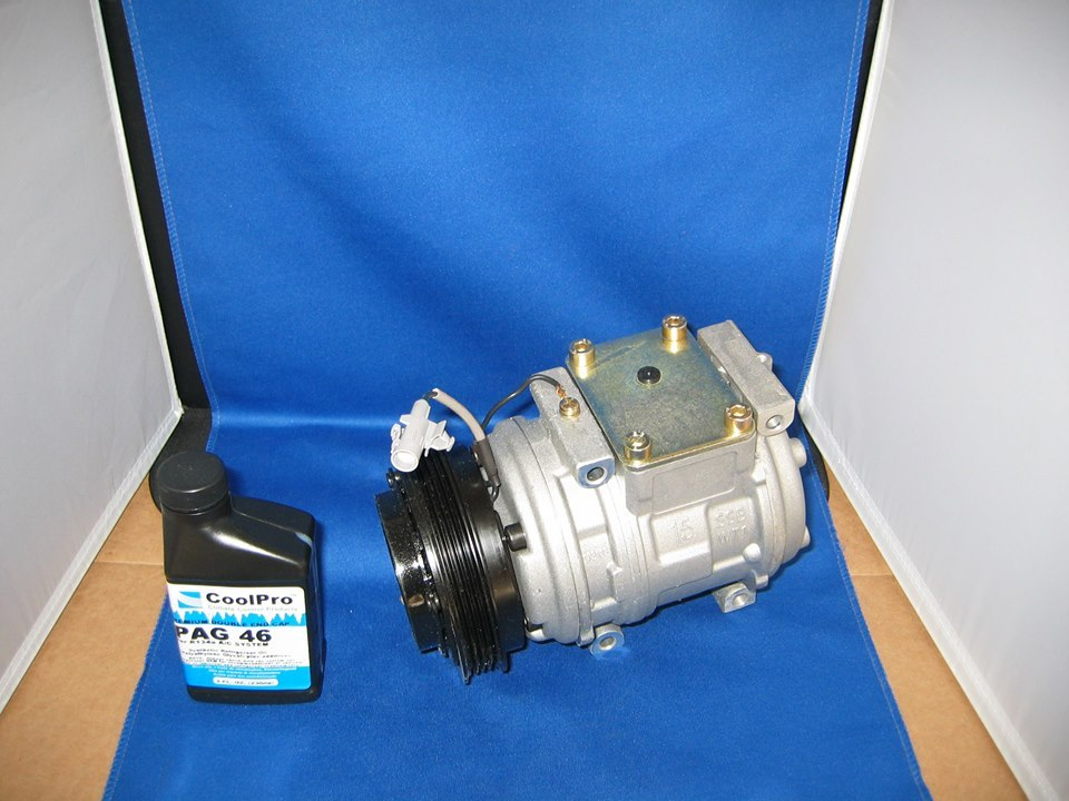 95 04 toyota tacoma ac air conditioning compressor with clutch