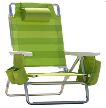 Green Striped Beach Chair Shoulder Strap Insulated Cooler - €48,92 EUR