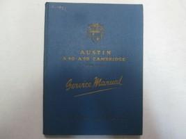 1956 Austin A40 A50 Cambridge Servizio Riparazione Negozio Manuale Origi... - $55.39