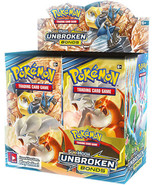 Pokemon Unbroken Bonds 12 Booster Pack Lot 1/3 Booster Box Pokemon TCG S... - $38.95