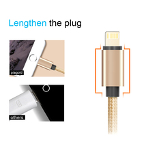 3x Braided USB Cable 8 pin Cable Fast Data Sync Cords For iPhone 6 7 6s ... - $5.00