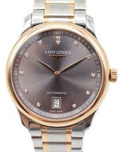 Longines Master Collection Two-Tone Diamond Watch L2.628.5 - $1,683.00