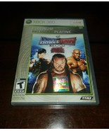 WWE SmackDown Vs Raw 2008 Featuring ECW Platinum Hits Xbox 360 EXMT **In... - $19.79