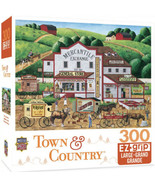 """TOWN & COUNTRY 300 EZ-GRIP LARGE PIECE PUZZLE MORNING DELIVERIES 24""""x18"""" - $5.79"""