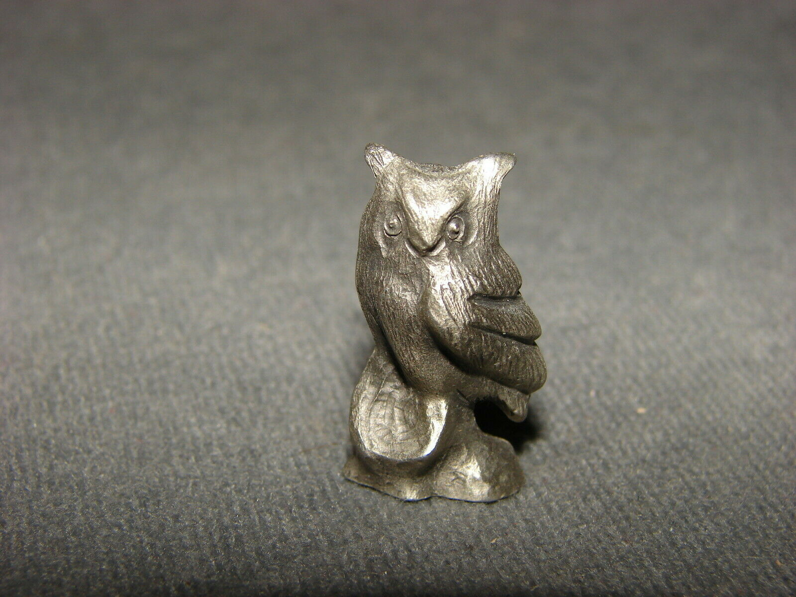 "Primary image for Pewter Figurine: Owl 1"" Bea-Line"