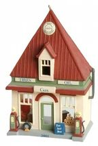 7 Hallmark Nostalgic Houses and Shops includes TOWN HALL MAYORS HOUSE NIB image 5